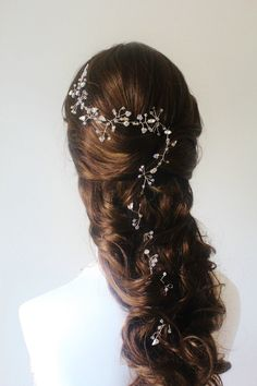 Wedding Hair AccessoriesBridal Crystal Hair VineSwarovski