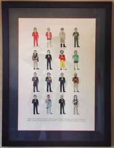 """For #ThrowbackThursday, we present """"Murrays"""" from 2012! Can you name all these Bill Murray movies? No cheating! Custom framed by FastFrame of LoDo. #art #framing #denver #colorado #tbt #billmurray"""