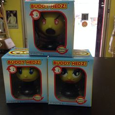 We've got Buddy Hedz! Switch your head as often as your mood!