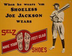 Shoeless Joe Jackson, Selz Shoes