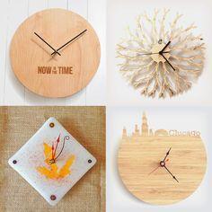 Handmade clocks on Handmade at Amazon