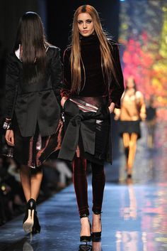 "Gaultier. PFW - yeah well not exactly ""my style"" I would def wear it tho!"