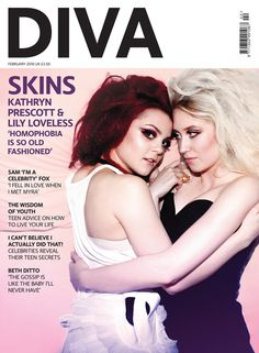 Kathryn Prescott and Lily Loveless (Emily Fitch and Naomi Campbell, Skins UK)