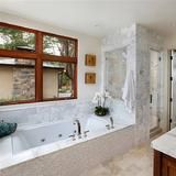 I just voted for my favorite bathroom in The Doory Awards! Check out the nominees and vote for your favorite, then enter for your chance to win a cash prize. | HGTV FrontDoor