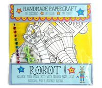 Robot Craft Kit, robot papercraft, kids papercraft kit, Paper Robot ,Robot Party, Robot Gift,stocking filler by loubibludesigns on Etsy https://www.etsy.com/listing/258624070/robot-craft-kit-robot-papercraft-kids