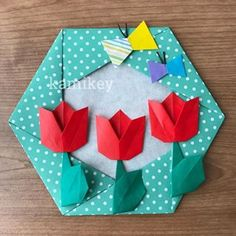 Origami Cards, Origami And Kirigami, Origami Folding, Origami Garland, Paper Art, Paper Crafts, Origami For Beginners, Quilling Art, Arts And Crafts