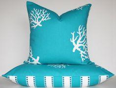coral pillows