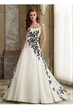 LowPriceALineWeddingGownsAppliquesEmbroiderySleevelessChurchGardenOrOutdoorSatinChicAndModernHotSaleLS69367-0.jpg (250×375)