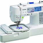 Brother Combination Computerized Sewing and Embroidery Machine With 67 Built-in Stitches, 70 Built-in Designs, 5 Lettering Fonts - - The computerized combination embroidery and sewing machine is design Embroidery Machine Reviews, Brother Embroidery Machine, Computerized Embroidery Machine, Sewing Machine Embroidery, Sewing Machine Reviews, Sewing Stitches, Embroidery Machines, Embroidery Ideas, Machine Quilting