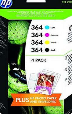 HP J3M82AE 364 Original Ink Cartridges Combination Pack - Mulit-pack (Black, Yellow, Magenta, Cyan), Pa No. 364 Standard cap., combo content pack (Barcode EAN = 4054189729920). http://www.comparestoreprices.co.uk/december-2016-week-1/hp-j3m82ae-364-original-ink-cartridges-combination-pack--mulit-pack-black-yellow-magenta-cyan--pa.asp