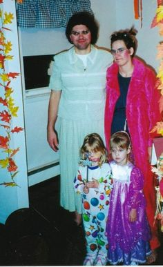 2 UGLY stepsisters and a cinderella & friend ideas for costumes from goodncrazy.com Carissa Rogers