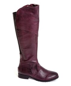 Take a look at this Burgundy Amore Boot by French Blu on #zulily today!I have never seen this shade of burgundy. Awesome and a very good price.