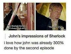 I'm sorry but yeah I'm really not #sherlock #johnwatson #sherlockholmes #johnlock