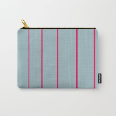 Buy Pink Stripes Carry-All Pouch by bravelyoptimistic. Worldwide shipping available at Society6.com. Just one of millions of high quality products available.