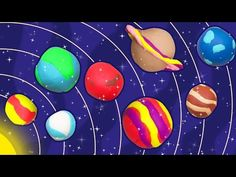 Fun with Play Doh | How to Make Play Doh Planets | Easy DIY Play Doh Creations - YouTube