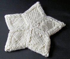 Punomo - Tee itse - Neulonta - 5-sakarainen tähti