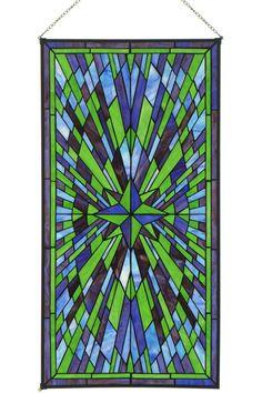 Starburst Art Glass - Art Glass Windows - Home Decor | HomeDecorators.com