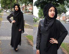 Al Madina Hijabs Black Scarf, Pearl Daisy Head Piece, Egypt Ring, Pearl Daisy Maxi Dress, Deichmann Heels