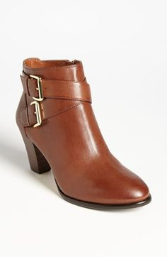 Louise et Cie 'Vosse' Bootie. Gorgeous brown leather ankle boot. #ankleboot #boot #nordstrom