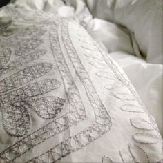New duvet cover makes me the happiest #cozy #westelm #prettybed #decor #home