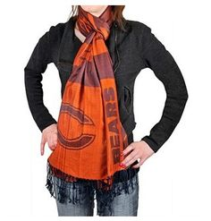 Chicago Bears Slogan Scarf