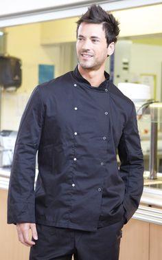 Portwest Short Sleeve Cook Chefs Jacket Kitchen Food Catering Apron Coat Uniform