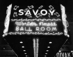 Harlem-NYC-Savoy Ballroom marquee......