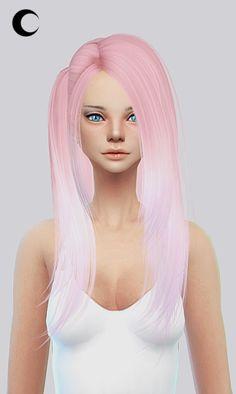 Kalewa-a: Hair 033 - Sims 4 Hairs - http://sims4hairs.com/kalewa-a-hair-033/