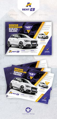 Buy Rent A Car Flyer Templates by grafilker on GraphicRiver. Rent A Car Flyer Templates Fully layered INDD Fully layered PSD 300 Dpi, CMYK IDML format open Indesign or later . Social Media Banner, Social Media Design, Ad Design, Flyer Design, Graphic Design, Photoshop, Car Banner, Bunting Banner, Business Flyer Templates