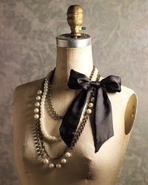 Pretty necklace. I want a dress form just so i can display jewelry on it!