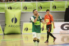 Daniel Bolívar, una de las figuras de Bello Real Antioquia, en su título de la Liga Argos Futsal.