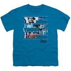 SIX MILLION DOLLAR MAN BETTER STRONGER FASTER Youth Short Sleeve T-Shirt