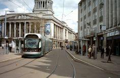 Market square Tram Stop, Nottingham
