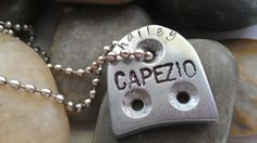 tap shoe necklace  personalized hand stamped by thecharmedwife, $18.00