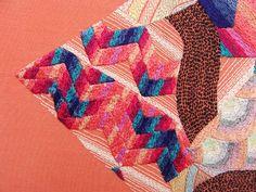 Embroidery artist Jazmin Berakha, detail. 2014 .  via Tumblr