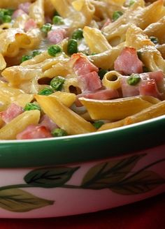 Cheesy Baked Penne #recipe | RecipeGirl.com