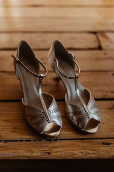 Rainbow Club Gold Bronze Copper Shoes Bride Bridal Beautifully Relaxed Outdoorsy Barn Wedding http://www.caitlinandjones.co.uk/