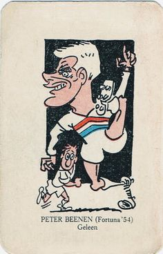 Peter Beenen of Fortuna 54 of Holland in 1961.