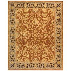Safavieh Anatolia Brown/Plum 8 ft. x 10 ft. Area Rug-AN545A-8 - The Home Depot
