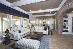 https://flic.kr/p/pioCq4 | Heritage F with Casita ~ Shreveport Model | Great Room