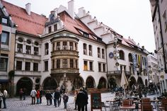 Hofbrauhaus in Munich, Germany - The only place where beer doesn't taste like what it looks like!