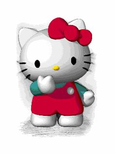 Hello kitty Gifs images and Graphics. Hello kitty Pictures and Photos. Sanrio Hello Kitty, Chat Hello Kitty, Hello Kitty Shoes, Hello Kitty Accessories, Hello Kitty My Melody, Hello Kitty Bag, Here Kitty Kitty, Kitty Gif, Hello Kitty Backgrounds