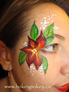 Face Painting Cheek Art. Cheek Paint for kids. Cheek art picture ...