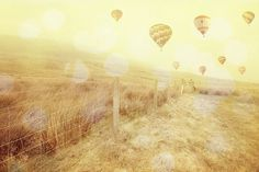 Wales national park travel photography Whimsical photography hot air balloon print 9x6