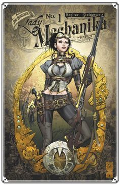 Lady Mechanika Tome 1 : Le mystère du corps mécanique