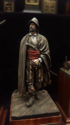 Conquistador, Types Of Armor, Thirty Years' War, Military Figures, Military Modelling, Figure Reference, Fantasy Paintings, Modern History, Figure Model