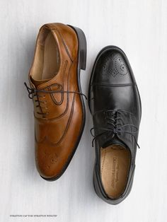 Brown or Black? Johnston And Murphy Shoes, Toms, Oxford Shoes, Dress Shoes, Lace Up, Belt, Brown, Spring 2016, Collection