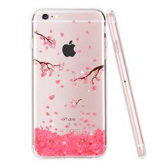 Case For iphone 6 s, Rhinestone Glitter Silicone Cover