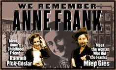 We Remember Anne Frank   Teachers Guide with lesson plans