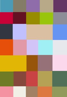 vintage kleurenpalet - Google zoeken